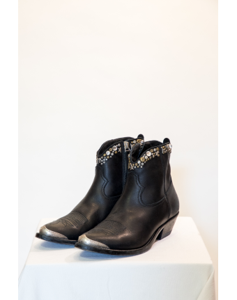 Bottines Young Golden Goose