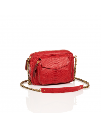 Python CHARLY rouge
